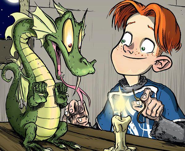 Des livres pour les passionnés de dragons (dès 8 ans)