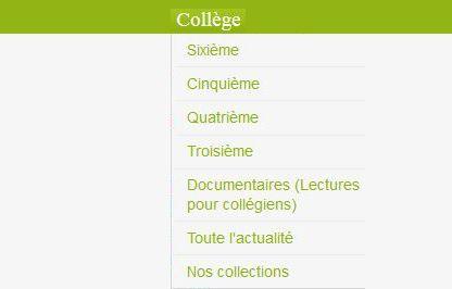 Ressources pour le collège