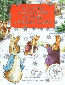 Le livre d'activités de Noël de Pierre Lapin - Beatrix Potter