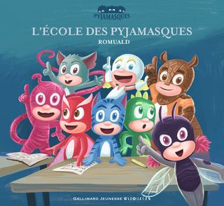 L'école des Pyjamasques -  Romuald