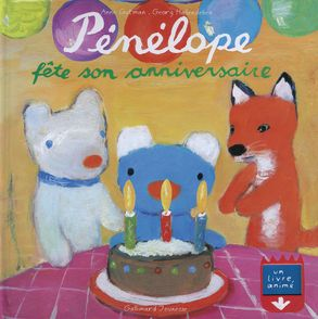 Pénélope fête son anniversaire - Anne Gutman, Georg Hallensleben