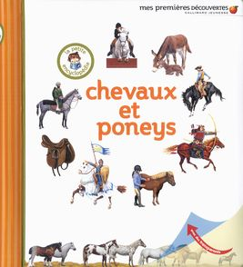 Chevaux et poneys -  un collectif d'illustrateurs, Delphine Gravier-Badreddine