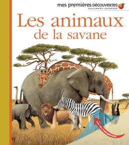 Les animaux de la savane - Delphine Badreddine,  un collectif d'illustrateurs