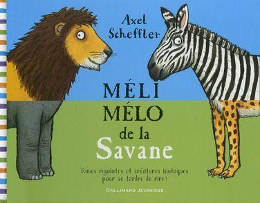 Méli-mélo de la Savane - Axel Scheffler
