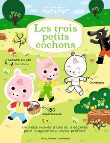 Les trois petits cochons - Mélanie Combes