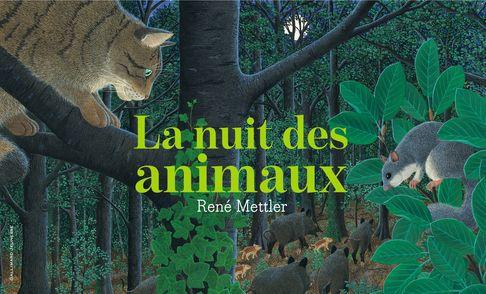 La nuit des animaux - René Mettler