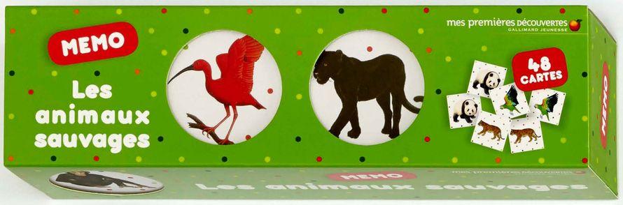 Les animaux sauvages -  un collectif d'illustrateurs