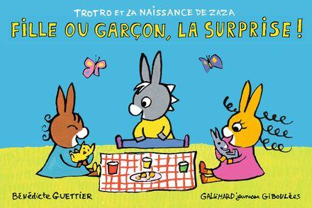 Fille ou garçon, la surprise! - Bénédicte Guettier