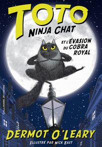 Toto Ninja chat et l'évasion du cobra royal - Nick East, Dermot O'Leary