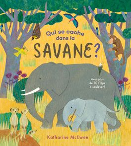 Qui se cache dans la savane ? - Katherine McEwen
