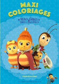 Maxi Coloriages des Drôles de Petites Bêtes - Antoon Krings