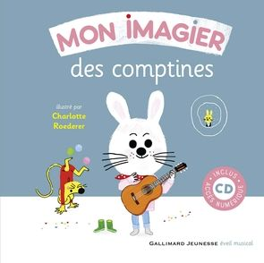 Mon imagier des comptines - Charlotte Roederer