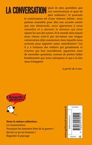 La conversation - Olivier Abel, Anne Simon
