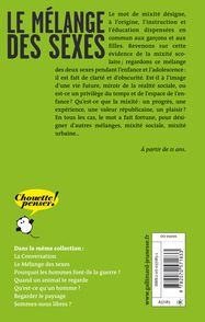Le mélange des sexes - Geneviève Fraisse, El don Guillermo