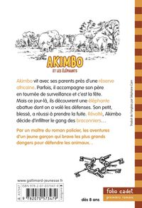 Akimbo et les éléphants - Peter Bailey, Alexander McCall Smith
