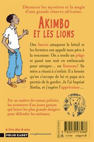 Akimbo et les lions - Peter Bailey, Alexander McCall Smith