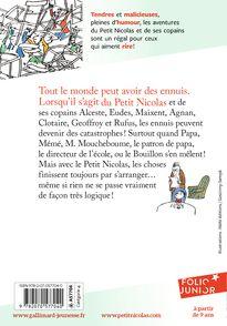 Le Petit Nicolas a des ennuis - René Goscinny,  Sempé