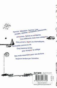 Jours de collèges - Bernard Friot