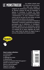 Le monstrueux - Stéphane Blanquet, Pierre Péju