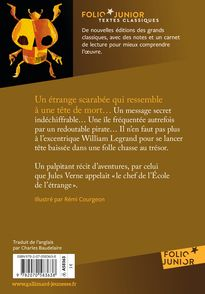 Le Scarabée d'or - Rémi Courgeon, Edgar Allan Poe