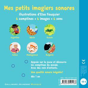 Mes comptines du monde - Elsa Fouquier