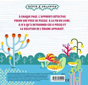 L'énigme de la chenille disparue - Thierry Laval