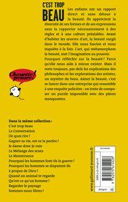 C'est trop beau -  Blexbolex, Fabienne Brugère