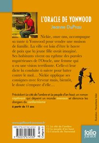 L'oracle de Yonwood - Jeanne DuPrau
