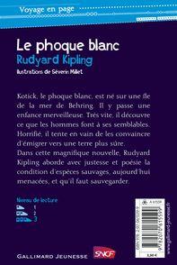 Le phoque blanc - Rudyard Kipling, Séverin Millet