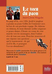 Le vœu du paon - Jean-Côme Noguès, Bruno Pilorget