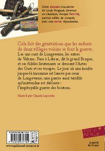 La guerre des boutons - Claude Lapointe, Louis Pergaud