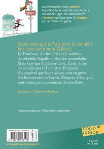 Zazie dans le métro - Catherine Meurisse, Raymond Queneau