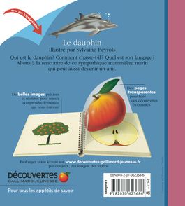Le dauphin - Sylvaine Peyrols