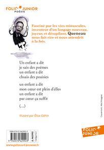 Poèmes - Élisa Géhin, Raymond Queneau