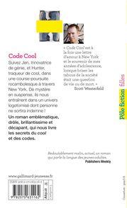 Code Cool - Scott Westerfeld
