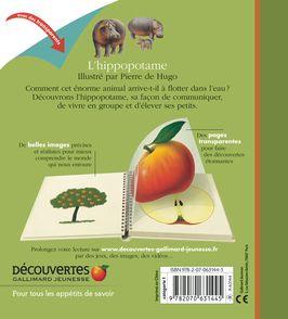 L'hippopotame - Pierre de Hugo
