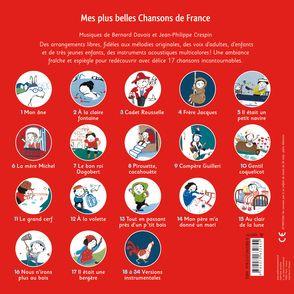 Mes plus belles chansons de France - Clémence Pénicaud