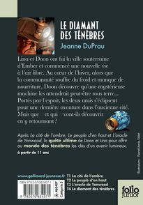 Le diamant des ténèbres - Jeanne DuPrau