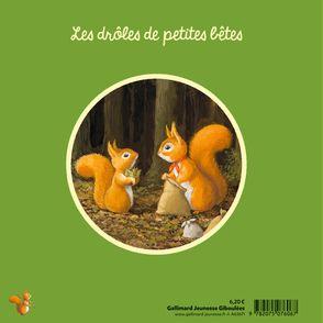 Robin l'écureuil du jardin - Antoon Krings