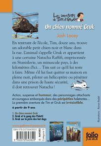 Un chien nommé Gruk - Ronan Badel, Josh Lacey