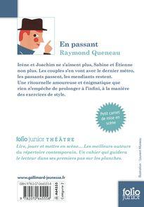 En passant - Raymond Queneau