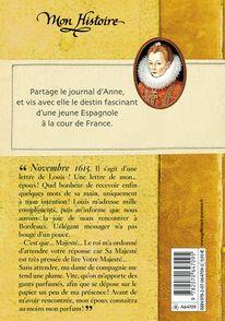 Anne, fiancée de Louis XIII - Isabelle Duquesnoy