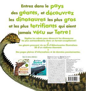 Le livre géant des dinosaures - Mary Greenwood, Peter Minister