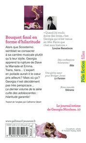 Bouquet final en forme d'hilaritude - Louise Rennison