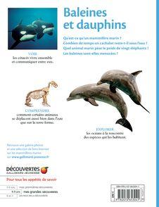 Baleines et dauphins -