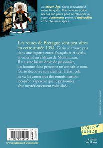 L'inconnu du donjon - Évelyne Brisou-Pellen, Nicolas Wintz