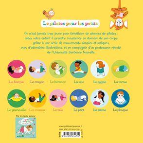 Le pilates pour les petits - Elsa Fouquier, Rida Ouerghi