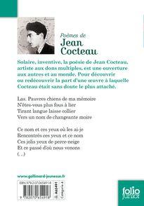 Poèmes - Guillaume Chauchat, Jean Cocteau