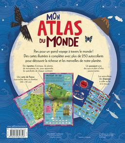Mon atlas du monde - Martin Sanders, Jenny Slater, Katrin Wiehle