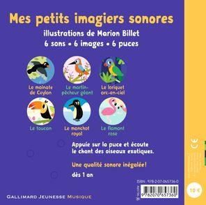 Les oiseaux exotiques - Marion Billet